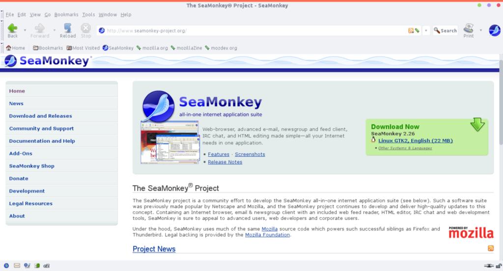 SeaMonkey Editor
