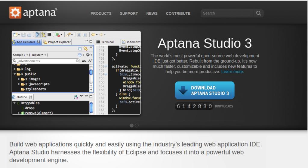 aptana_studio_home_fossnaija